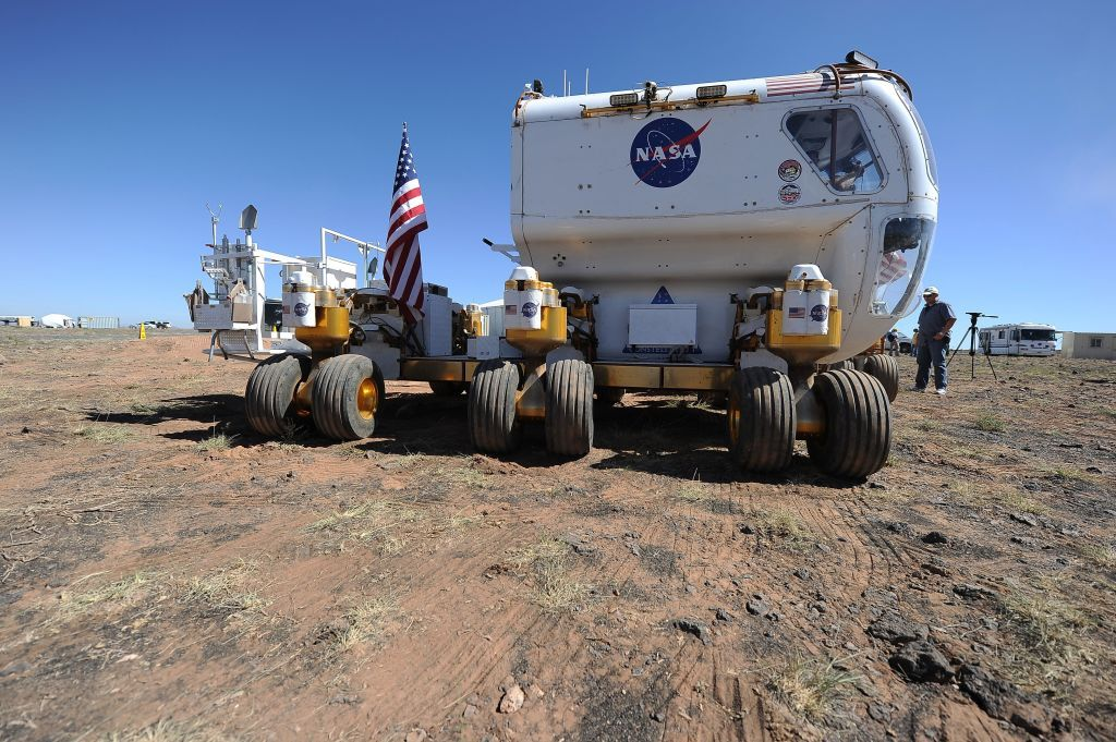 NASA working on space rover