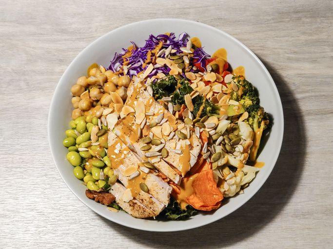 colorful chicken salad