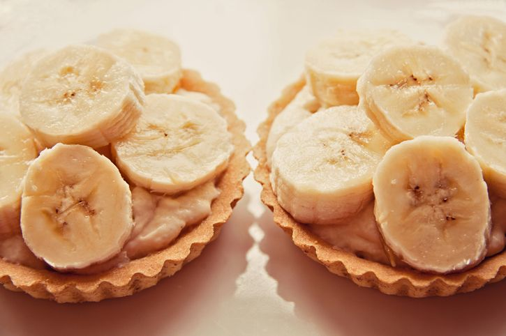 two banoffee pies