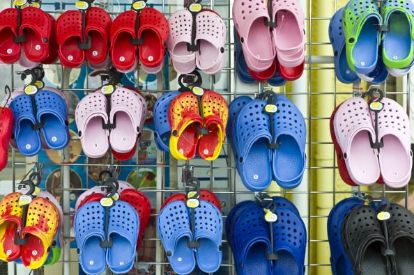 pairs of crocs