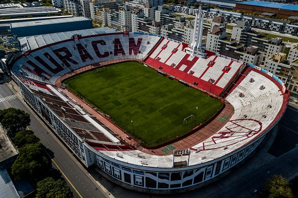 soccer stadium in Buenos Aires