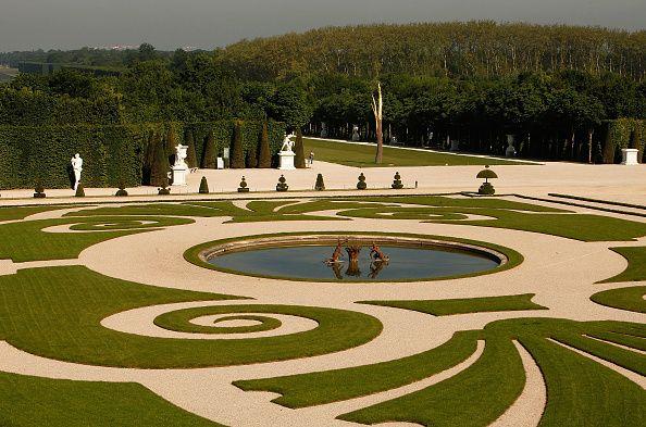 An exhibit at the Versailles gardens