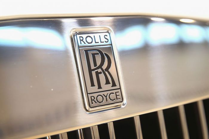 Rolls Royce displays a $500,000 2014 Phantom Drophead Coupe at the Chicago Auto Show on February 6, 2014