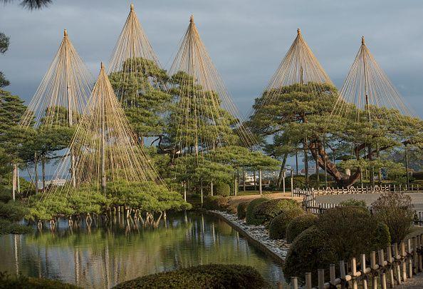 Kenrokuen garden in Japan
