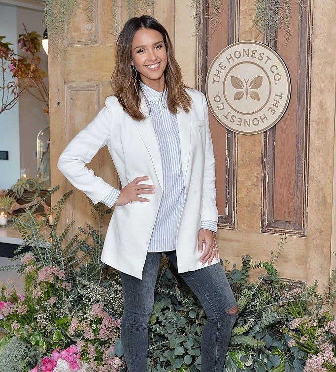 The Honest Company hosted a conversation with Founder Jessica Alba and First Lady of Los Angeles, Amy Elaine Wakeland, for the Getty House Foundation Women's Leadership Series