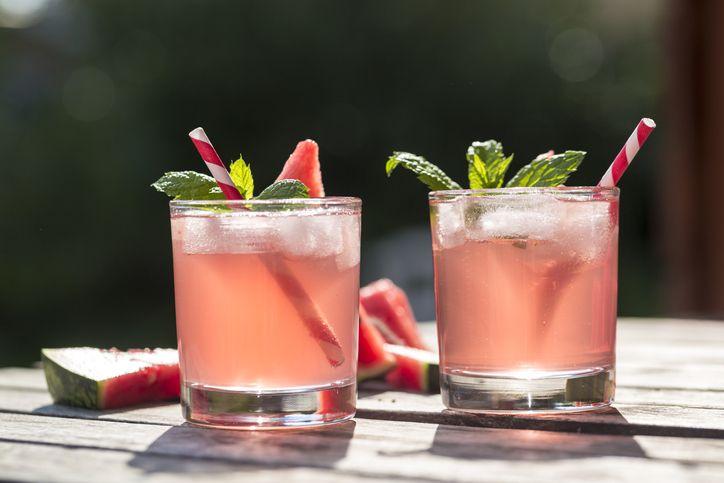 pink mojitos
