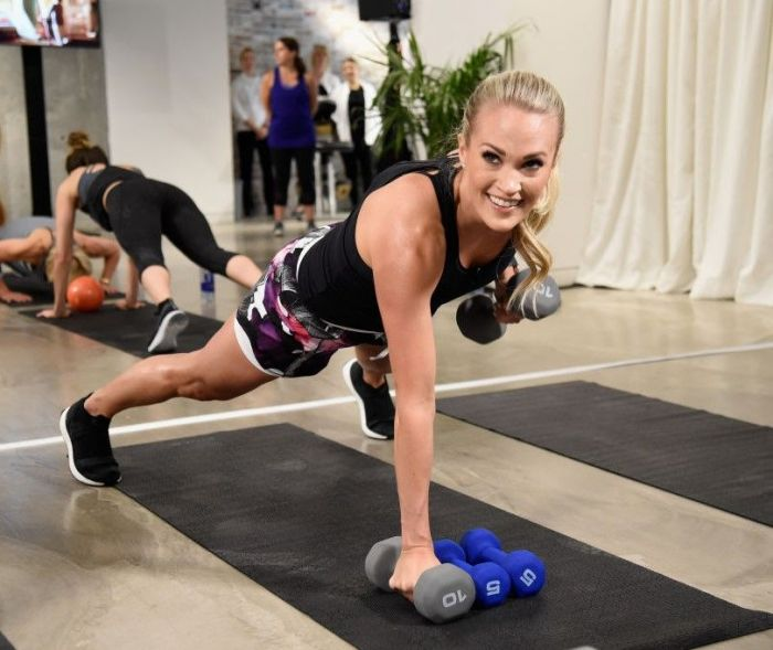 Carrie Underwood celebrates the new CALIA By Carrie Underwood Mother's Day campaign at (R)evolve