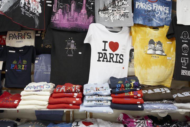 t-shirts at market