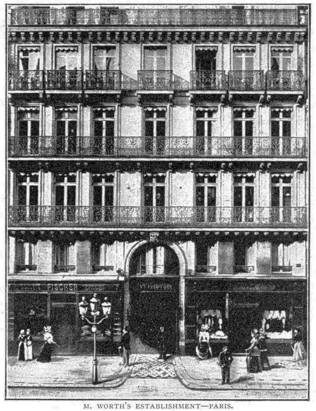 Illustration of House of Worth in 1894