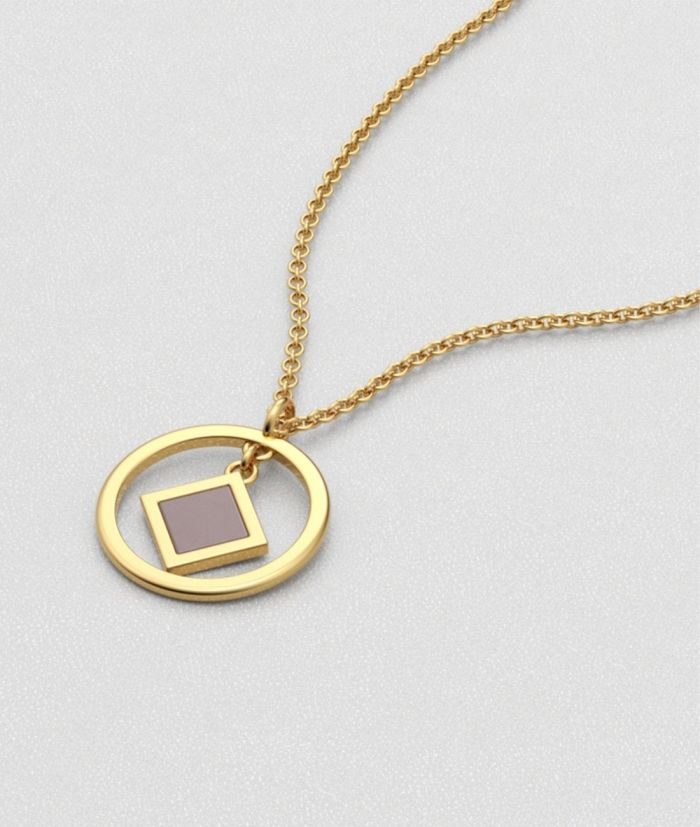 A necklace from Divine Supervision jewelry brand that contain a nanochip with the entire Bible